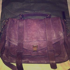 Purple Proenza Schouler PS1 Messenger Bag (Large)